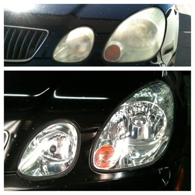 automotive headlight restoration