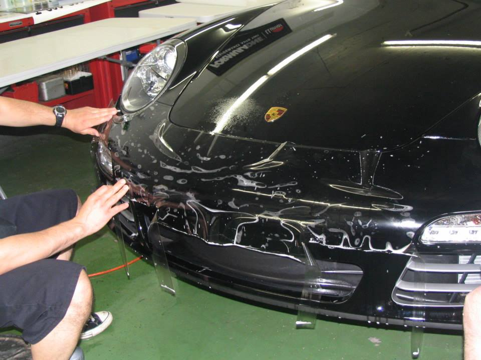 auto paint protection bumper