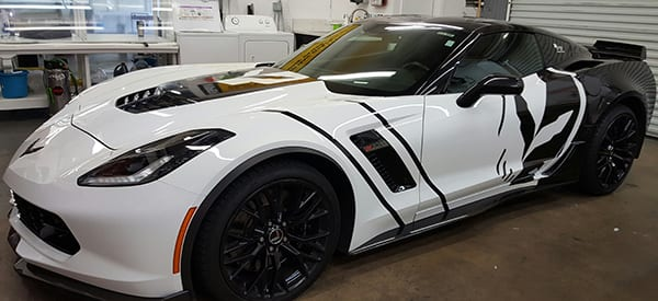 Automotive Vinyl Wraps And Lettering